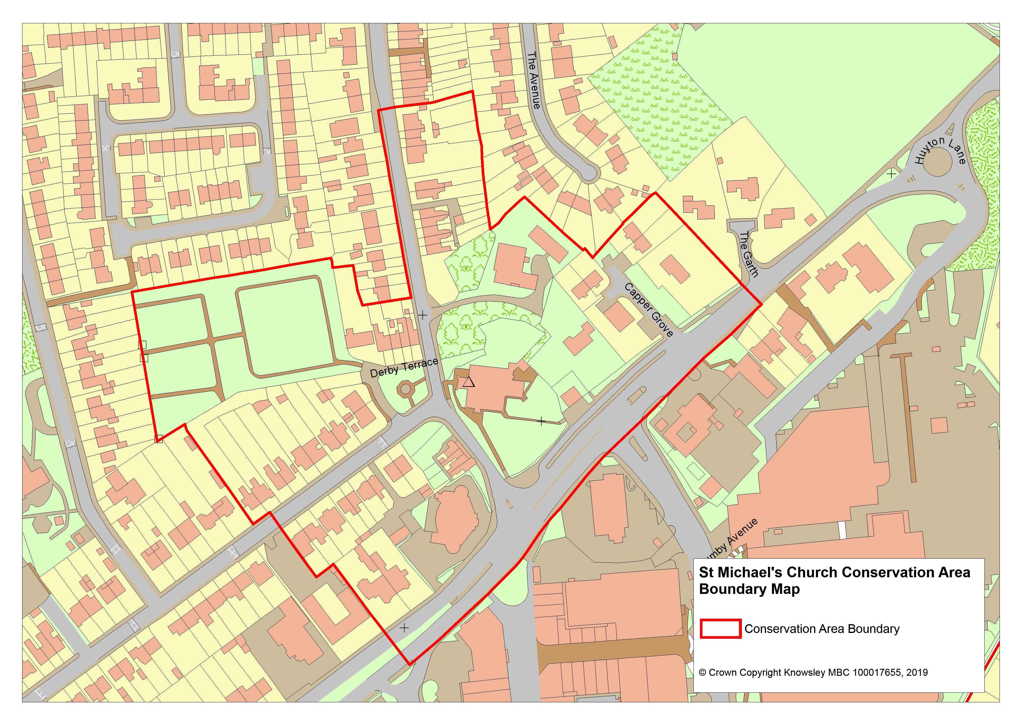 Liverpool City Council Boundary Map