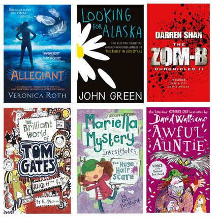 recent children's titles at the online library