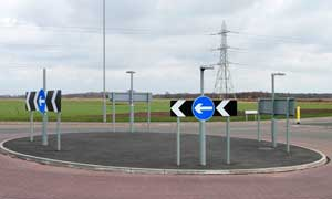 new roundabout